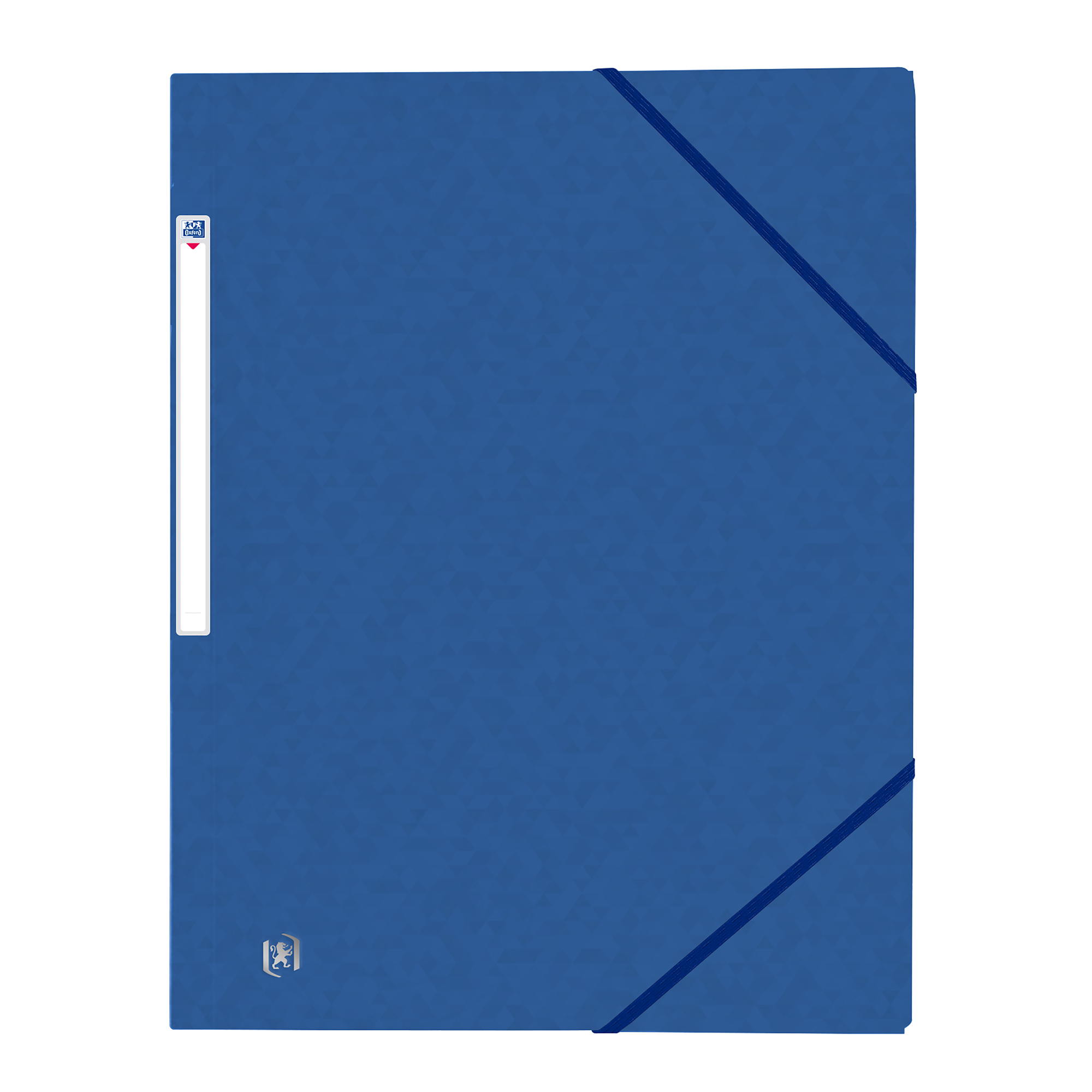Part Files Oxford Folder Elasticated 3-Flap 450gsm A4 Blue Ref 400114326 [Pack 10]
