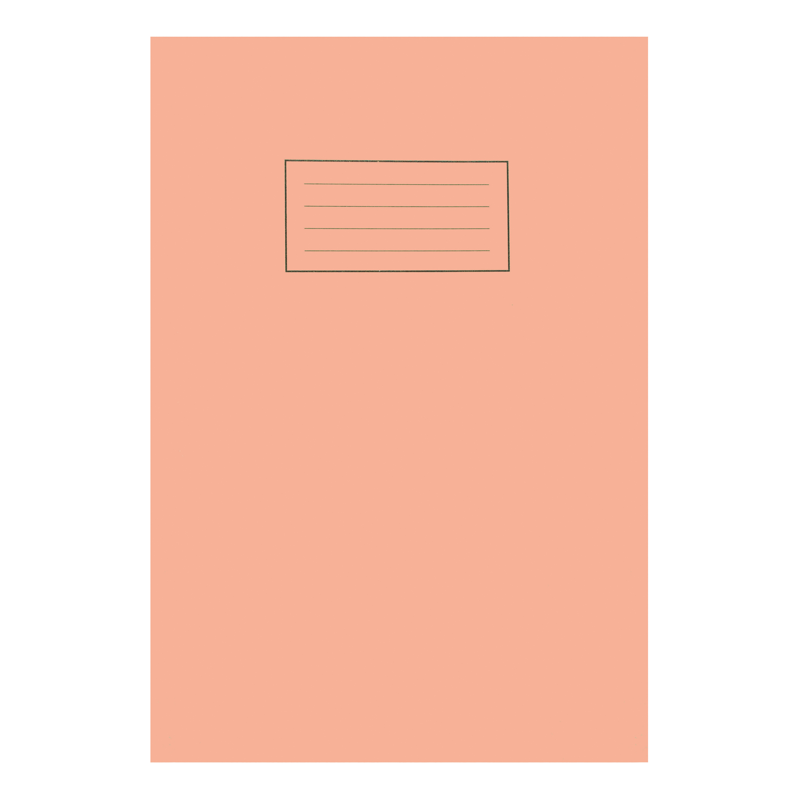 Silvine Exercise Book 5mm Square 80 Pages 75gsm A4 Orange Ref EX113 Pack 10