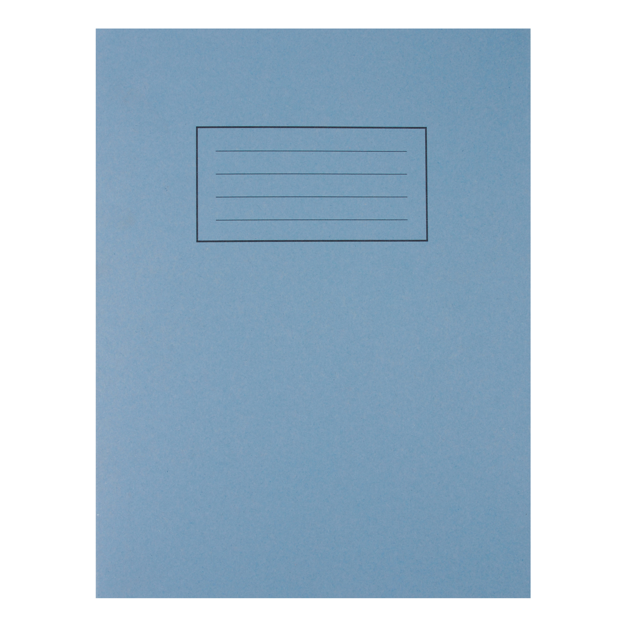 Exercise Books Silvine Exercise Book Ruled and Margin 80 Pages 75gsm 229x178mm Blue Ref EX104 Pack 10