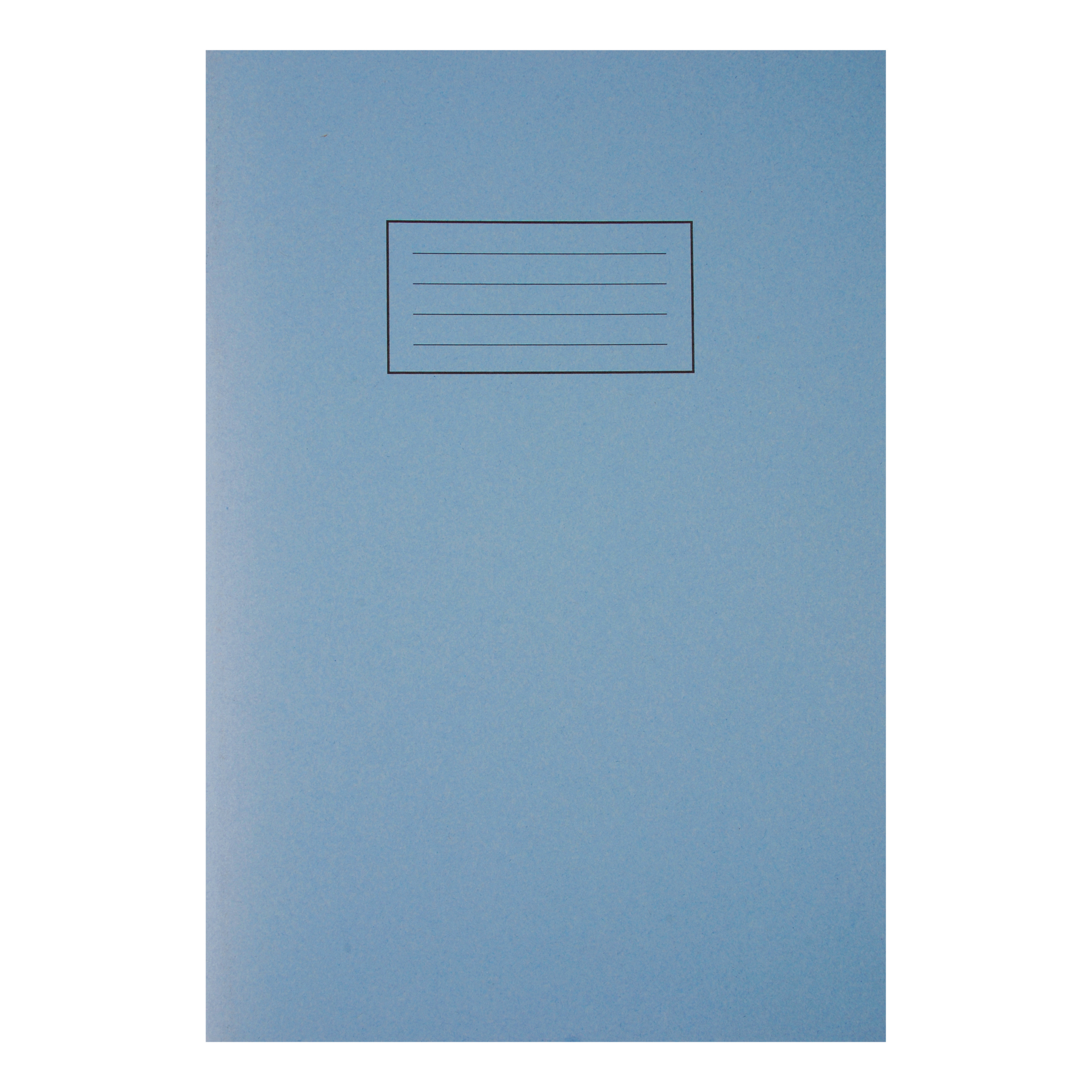 Silvine Exercise Book Ruled and Margin 80 Pages 75gsm A4 Blue Ref EX108 [Pack 10]
