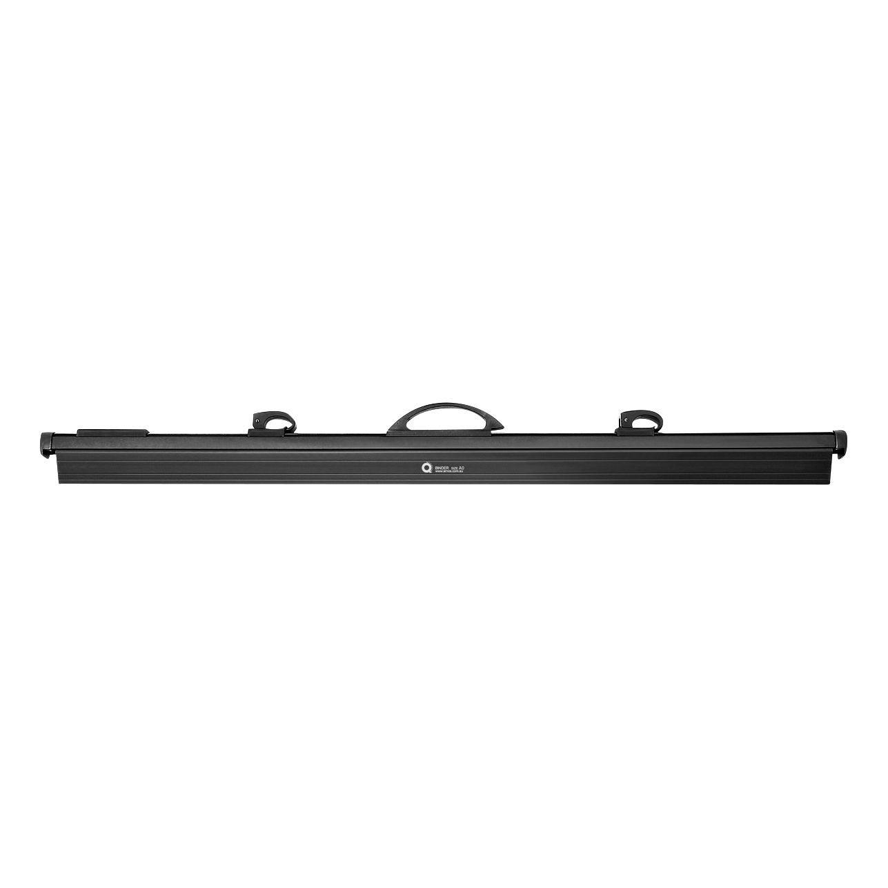 Arnos Hang-A-Plan QuickFile Frnt Load Binder Quick Rele Lever Full-length Clamp W950mm A0 Black Ref D202B