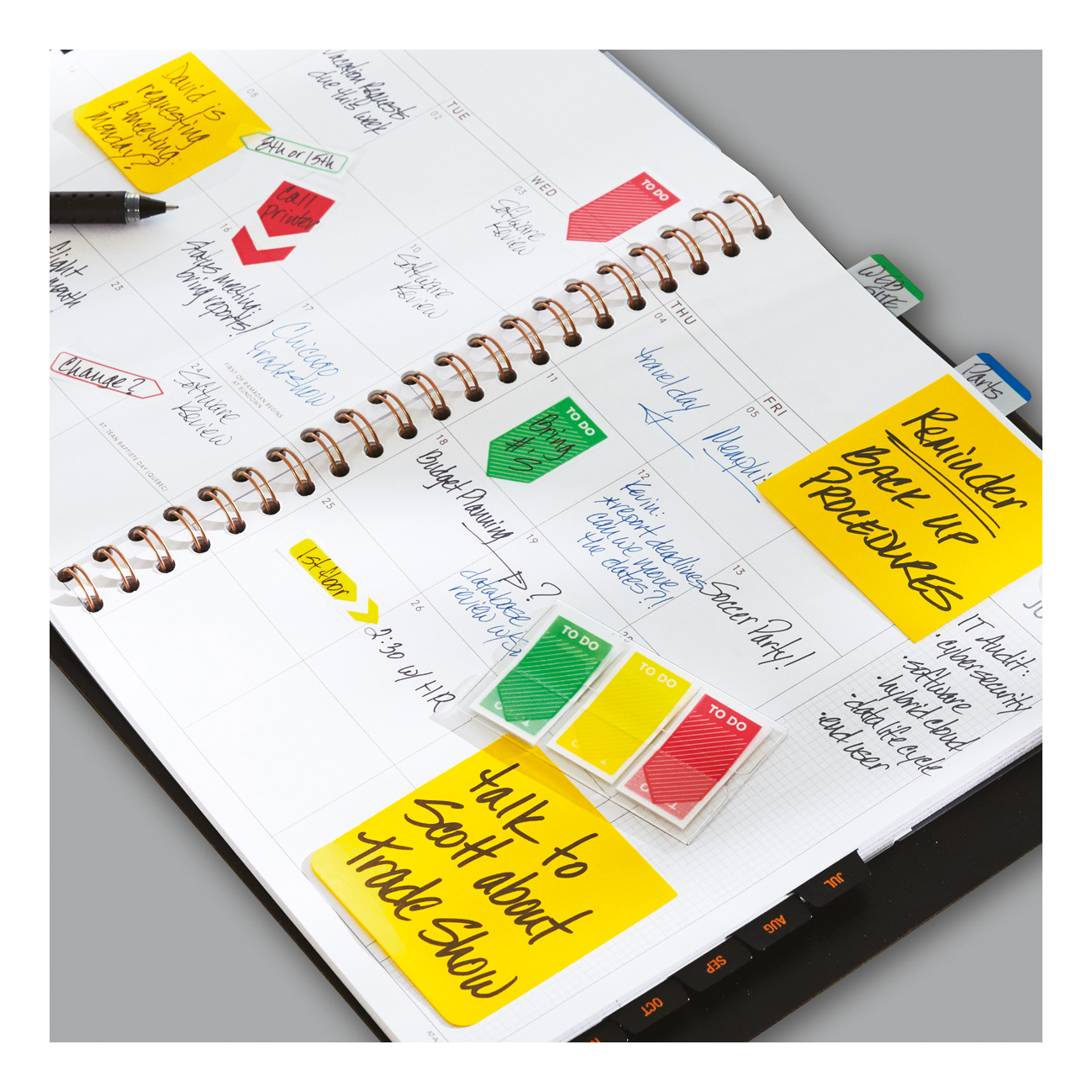 Post-it Sign Here Index Flags W25mm Ref 680-9 [Pack of 50]