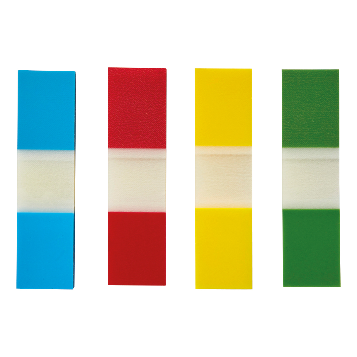 5 Star Office Index Flags 4 Bright Colours 12x45mm 35 Flags per Colour Assorted Pack 5