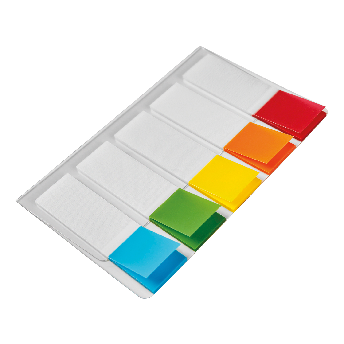 5 Star Office Index Flags 5 Bright Colours 12x45mm 20 Flags per Colour Assorted Pack 5