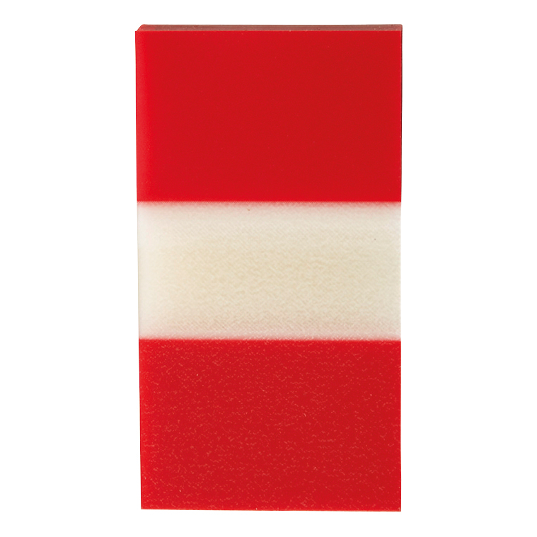 5 Star Office Standard Index Flags 50 Sheets per Pad 25x45mm Red Pack 5
