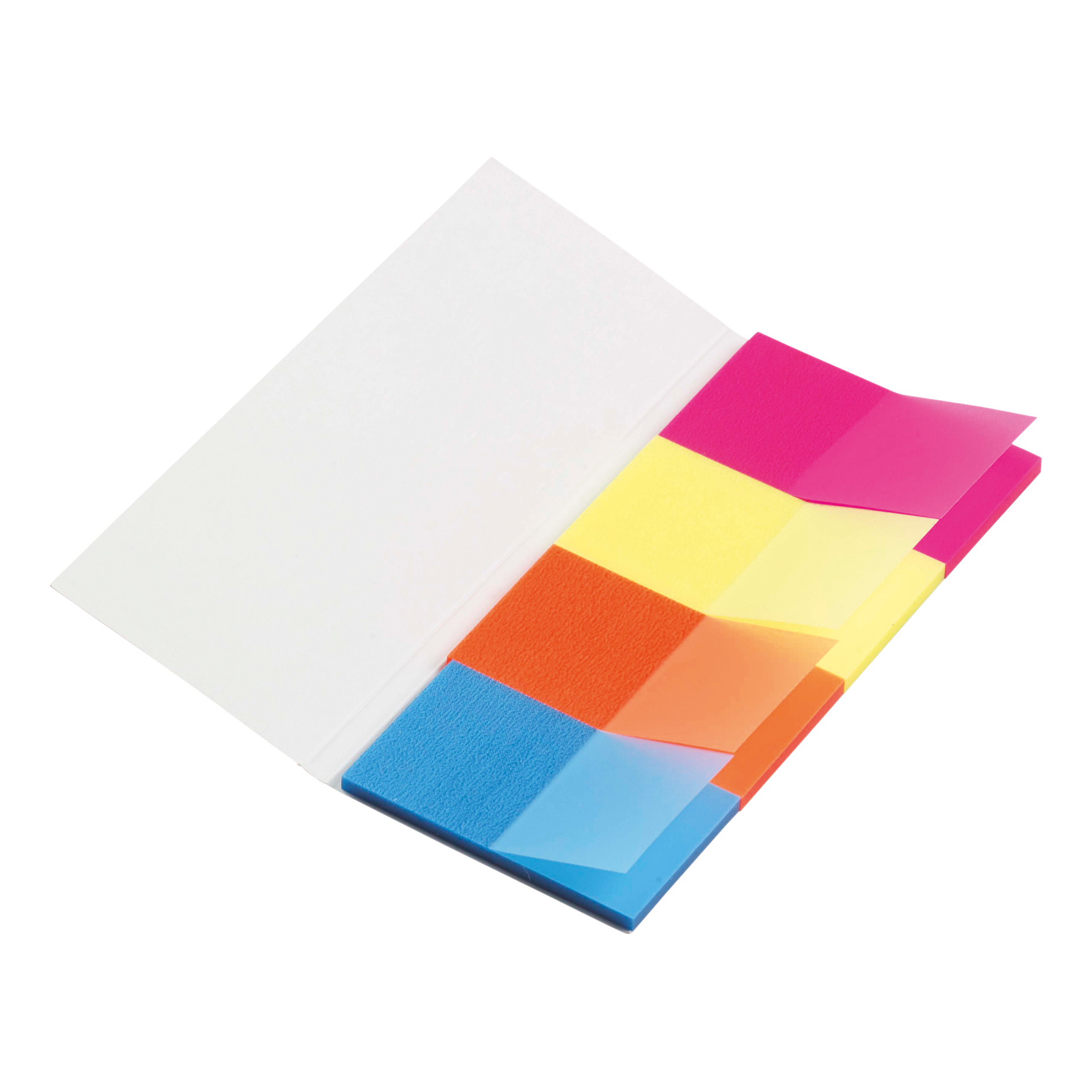 5 Star Office Index Flag Neon Four Colour Pack 5