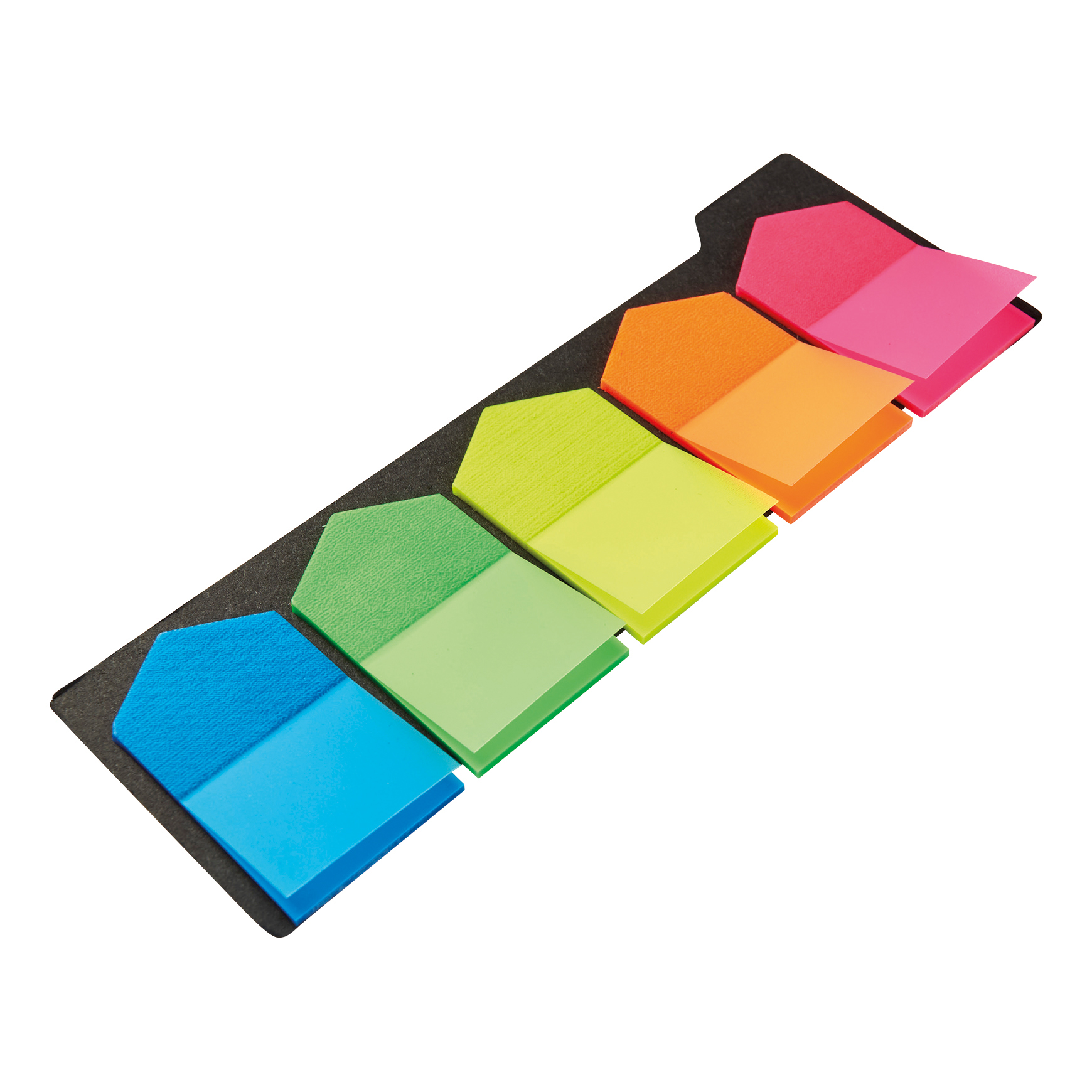 5 Star Office Index Arrow 5 Bright Colours 12x42mm 5 Packs of 20 Flags [100 Flags]