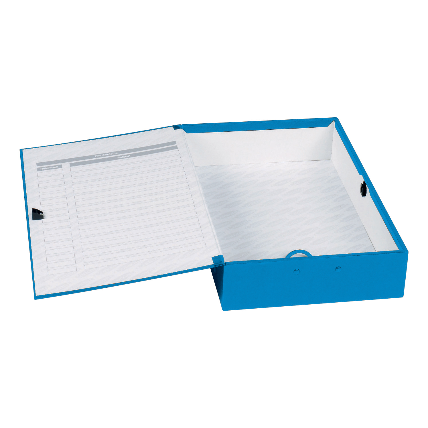 Box Files Concord Classic Box File 75mm Spine Foolscap Blue Ref C1278 Pack 5
