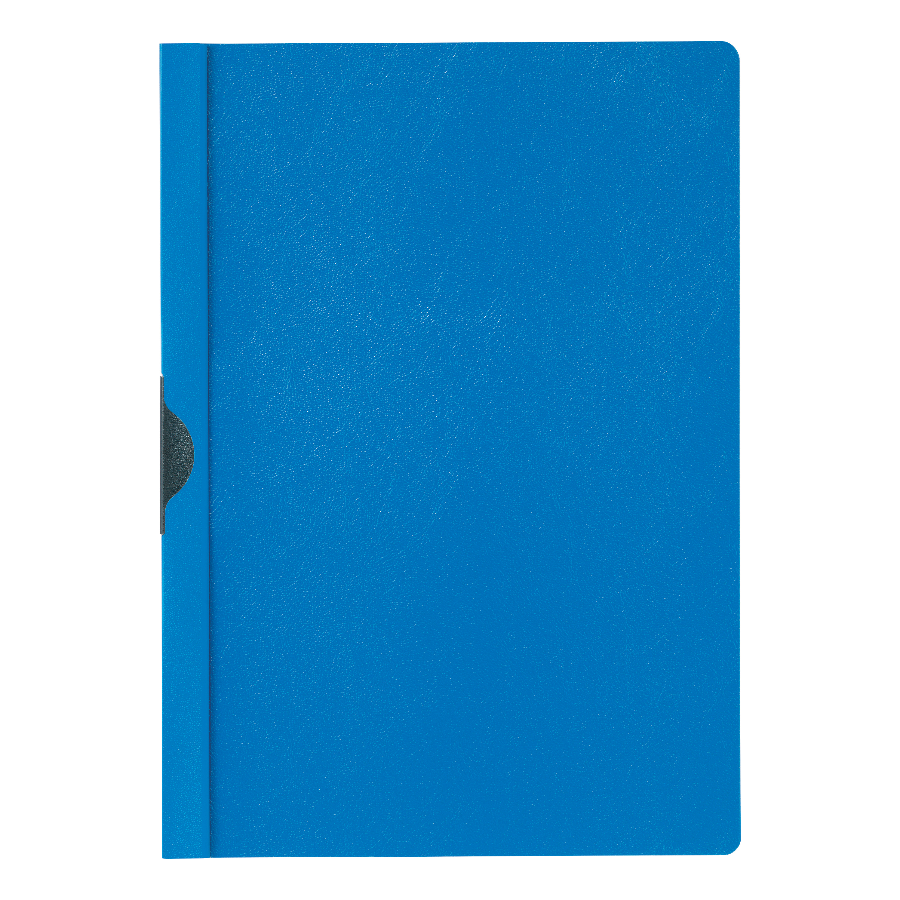 5 Star Office Clip Folder 3mm Spine for 30 Sheets A4 Blue Pack 25