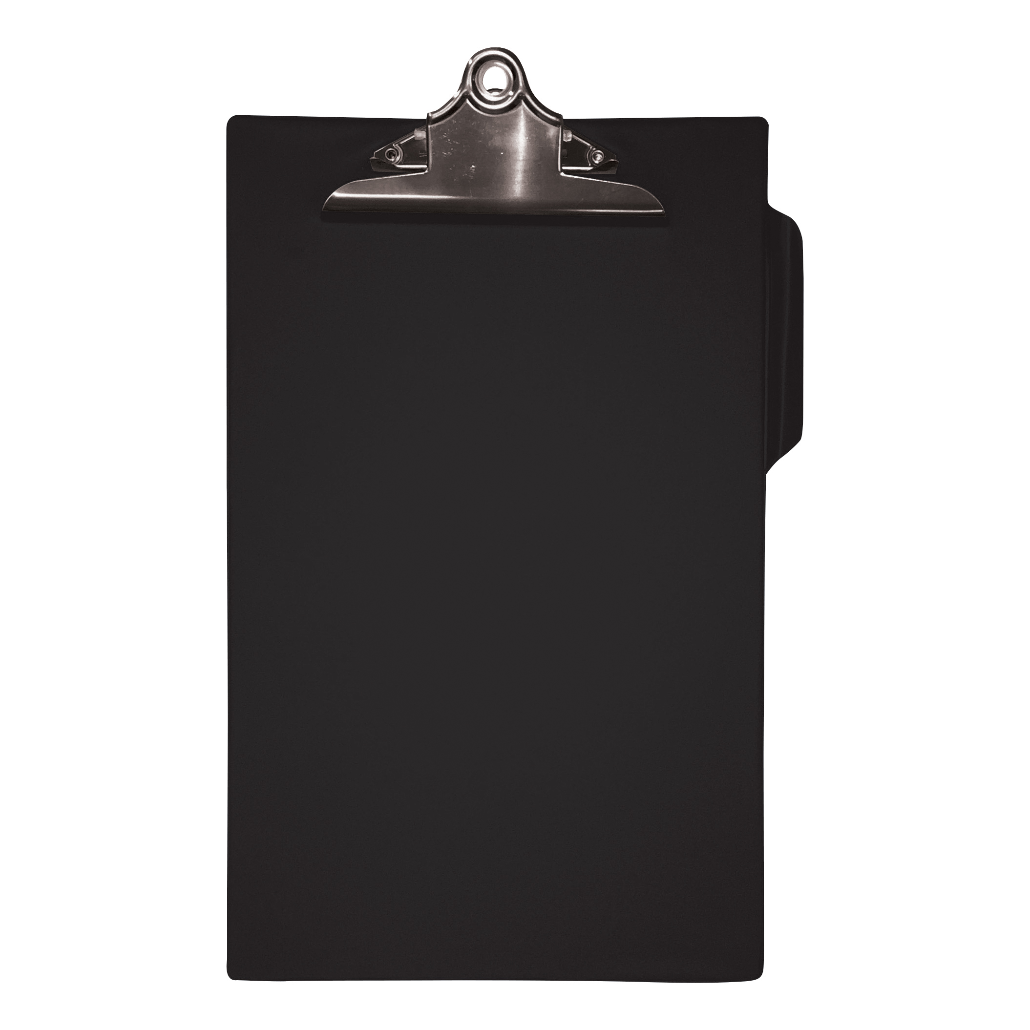 Image for 5 Star Office Clipboard PVC Finish Heavy Duty Foolscap Black