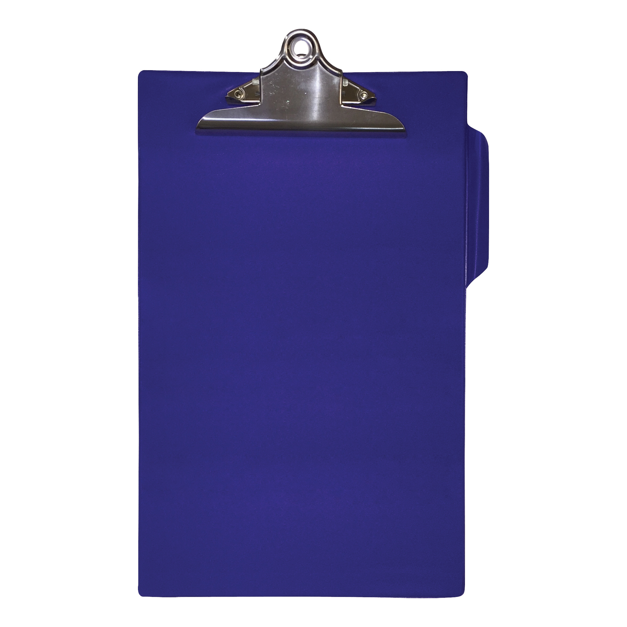 Image for 5 Star Office Clipboard PVC Finish Heavy Duty Foolscap Blue