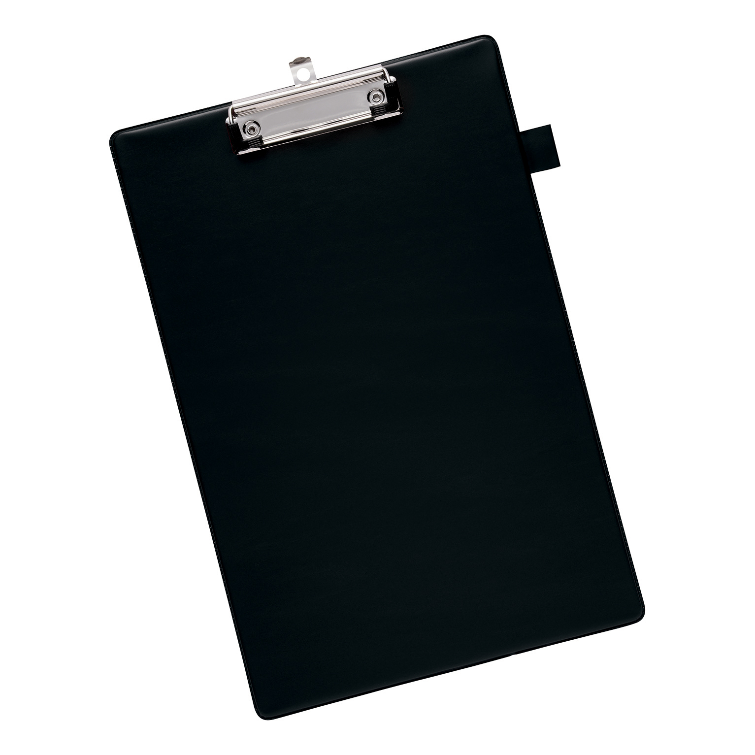 Clipboards 5 Star Office Standard Clipboard with PVC Cover Foolscap Black