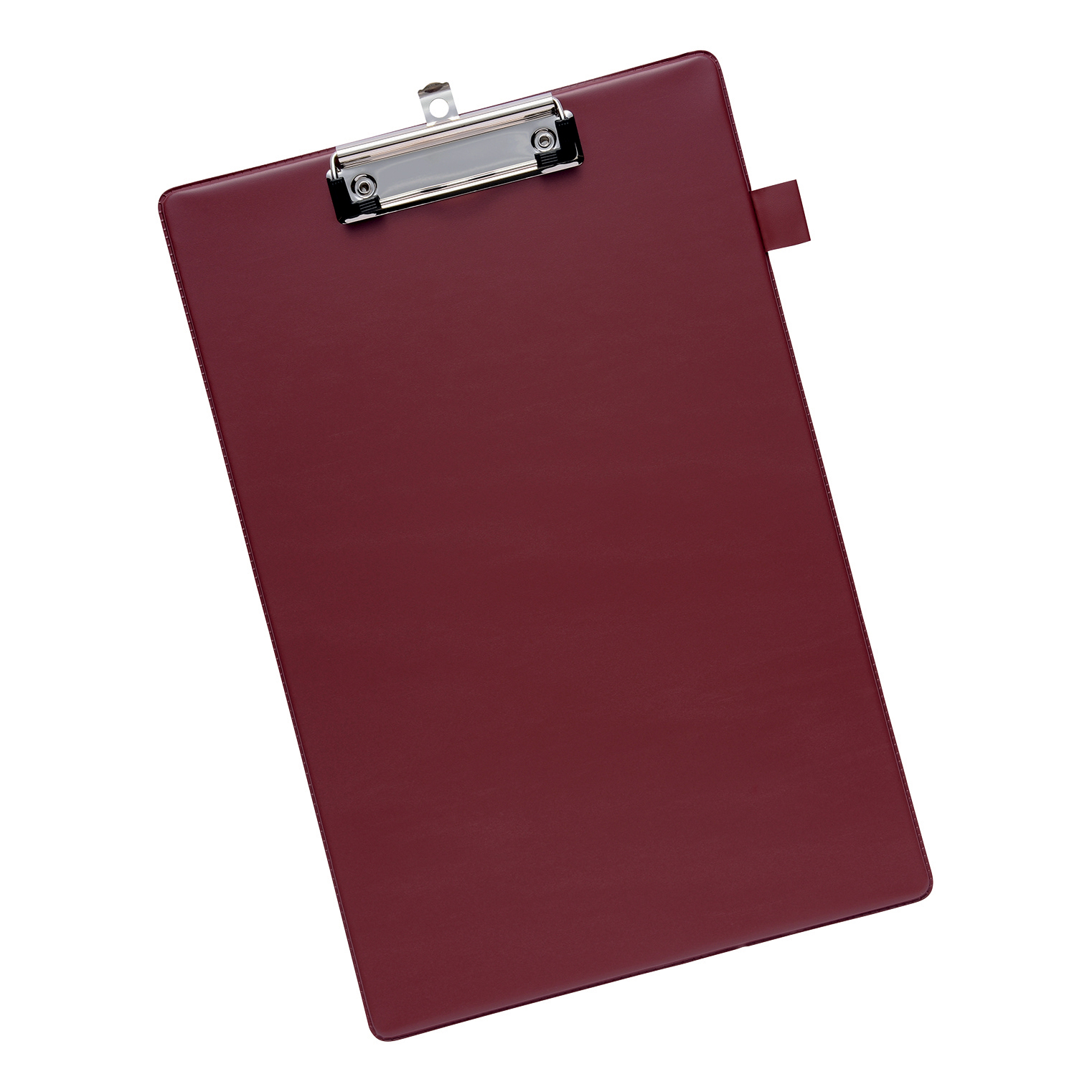 Clipboards 5 Star Office Standard Clipboard with PVC Cover Foolscap Dark Red
