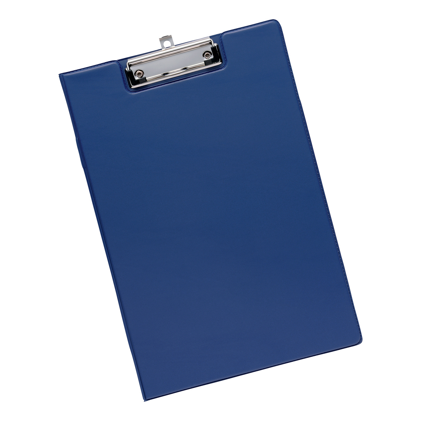 Clipboards 5 Star Office Fold-over Clipboard with Front Pocket Foolscap Blue