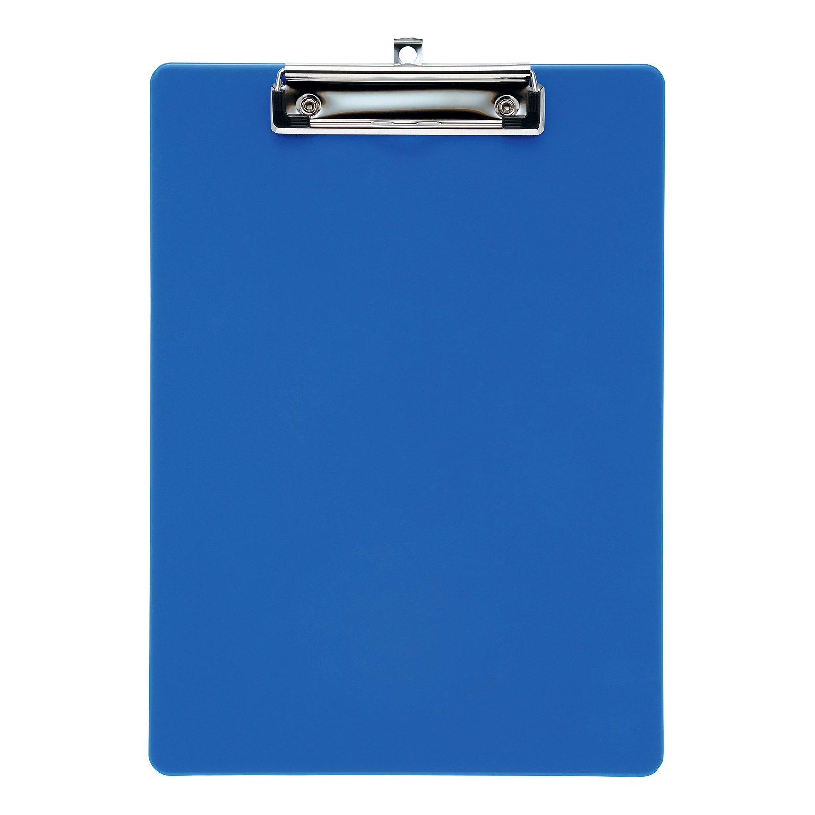 5 Star Office Clipboard Solid Plastic Durable with Rounded Corners A4 Blue