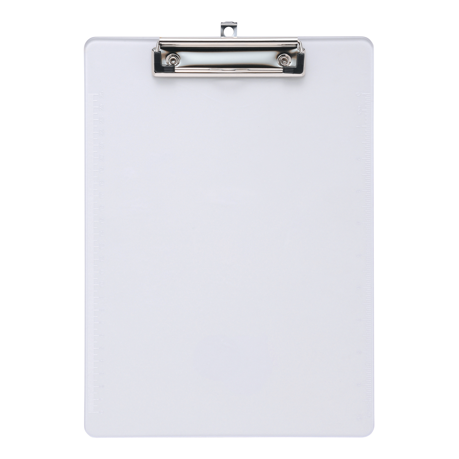 Clipboards 5 Star Office Clipboard Solid Plastic Durable with Rounded Corners A4 Clear