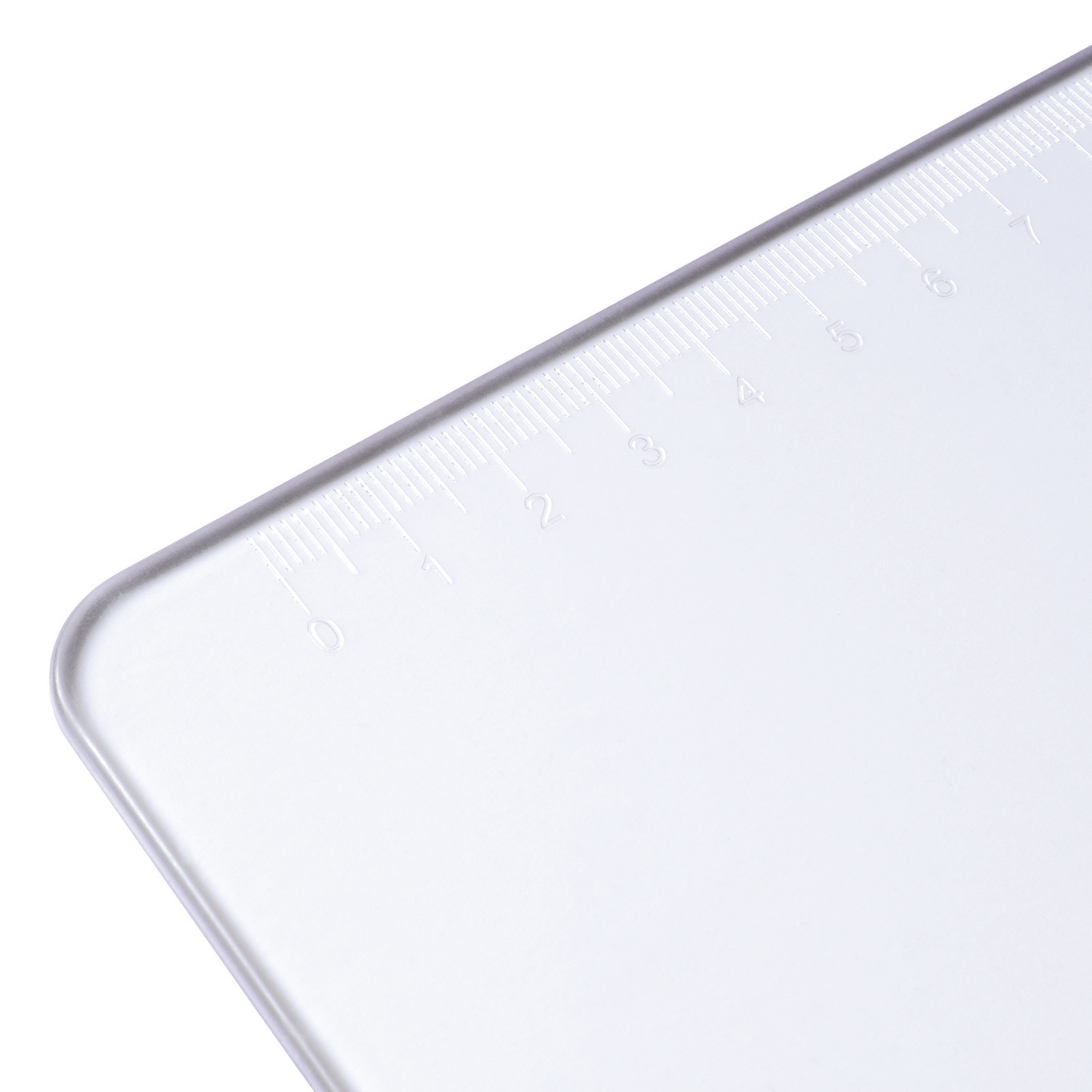 Image for 5 Star Office Clipboard Solid Plastic Durable with Rounded Corners A4 Clear