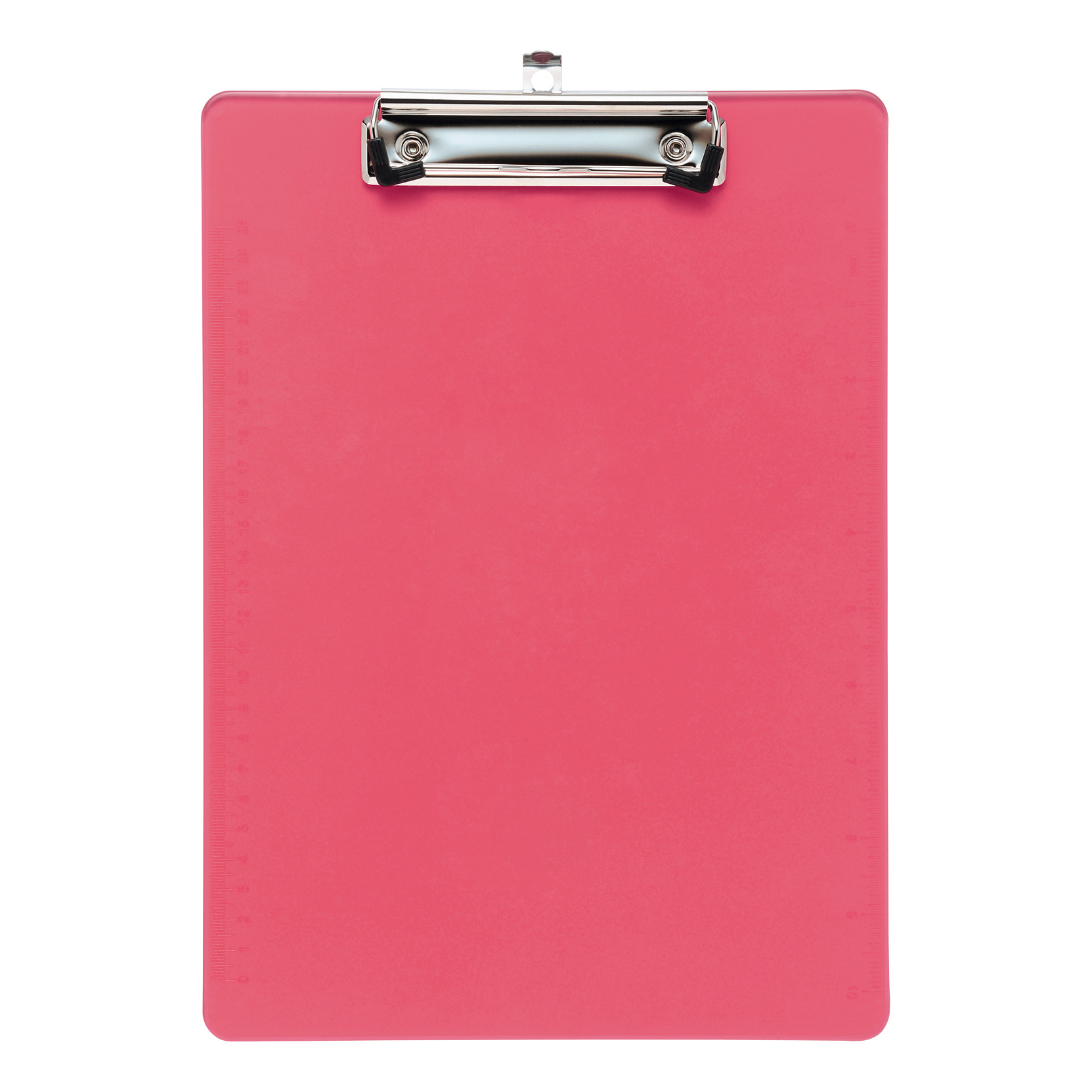 Clipboards 5 Star Office Clipboard Solid Plastic Durable with Rounded Corners A4 Pink