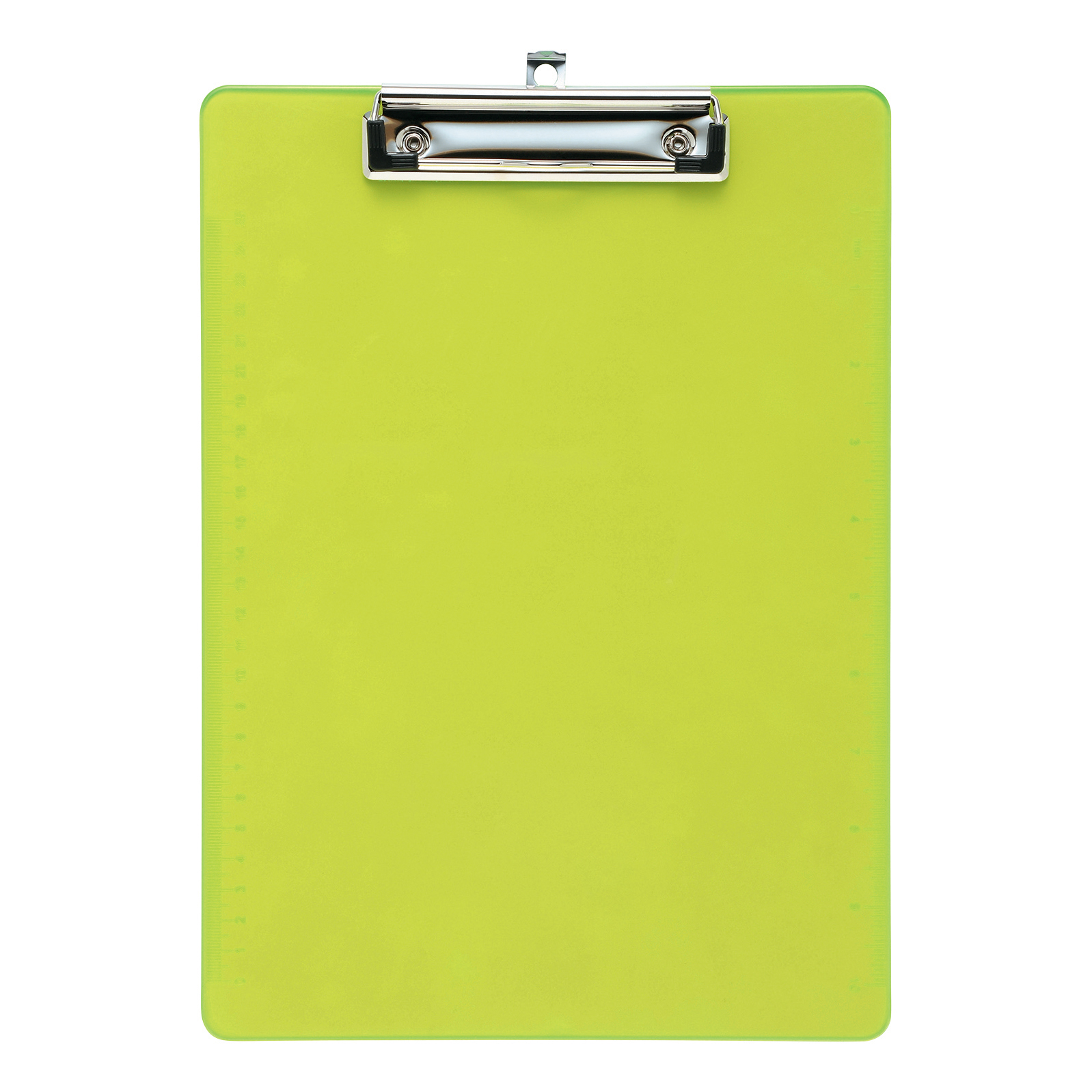 Clipboards 5 Star Office Clipboard Solid Plastic Durable with Rounded Corners A4 Green