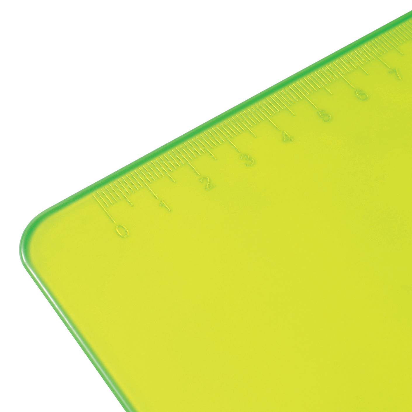 5 Star Office Clipboard Solid Plastic Durable with Rounded Corners A4 Green