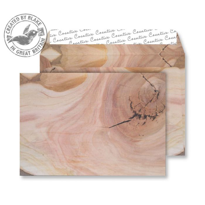 Creative Senses Wallet P&S Natural English Oak 135gsm C5 162x229 Ref NT353 Pk 125 10 Day Leadtime