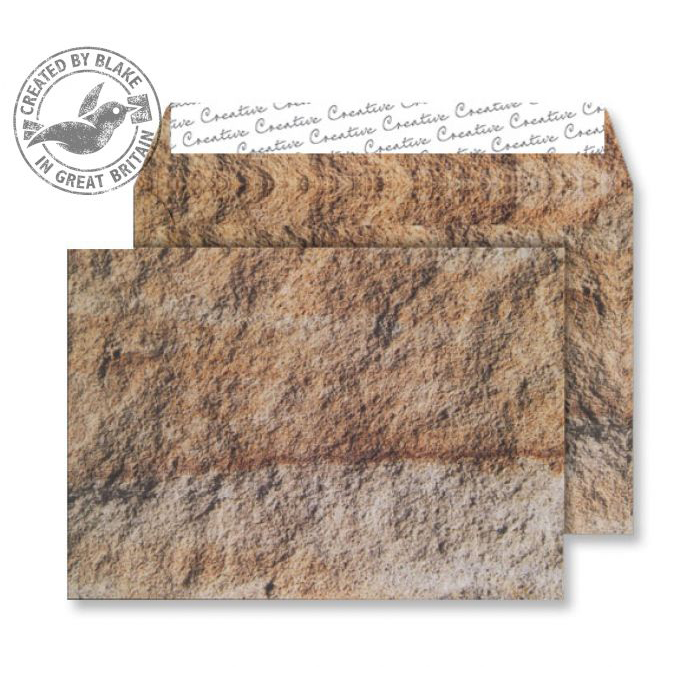 Creative Senses Wallet P&S Jurassic Limestone 135gsm C5 162x229 Ref NT354 Pk 125 10 Day Leadtime
