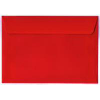 Creative Colour Pillar Box Red P&S Wallet C6 114x162mm Ref 106 [Pack 500] 10 Day Leadtime