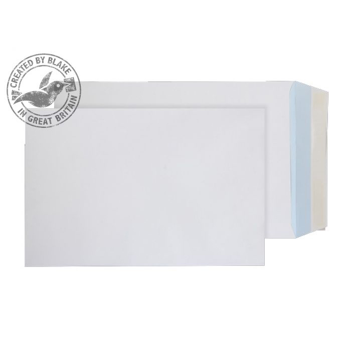 Purely Everyday Pocket Peel and Seal White 120gsm 381x254mm Ref 22286 [Pack 250] 10 Day Leadtime