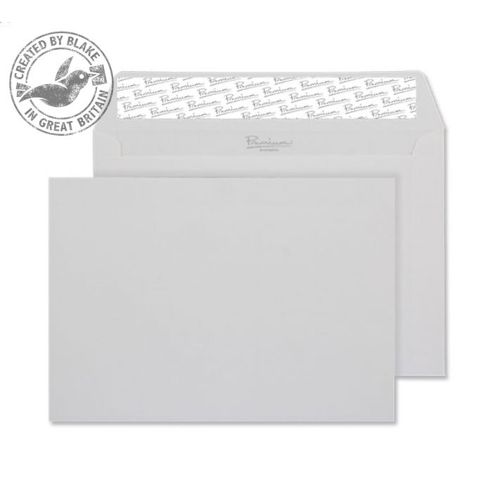 Blake Premium Business Wallet P&S Diamond White Laid C6 120gsm Ref 91880 Pk500 *10 Day Leadtime*