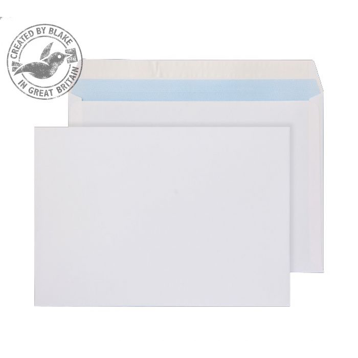 Purely Everyday Wallet P&S Ultra White 120gsm C5 162x229mm Ref 34707 [Pack 500] 10 Day Leadtime