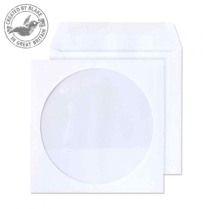 Purely Everyday White Wallet Gum 90gsm Circular Wndw 125x125 Ref 4210TUC Pk1000 10 Day Leadtime
