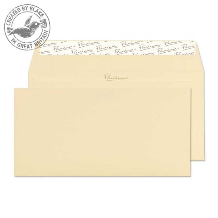 Blake Premium Business Wallet P&S Vellum Wove DL 110x220 120gsm Ref 51882 Pk 500 10 Day Leadtime