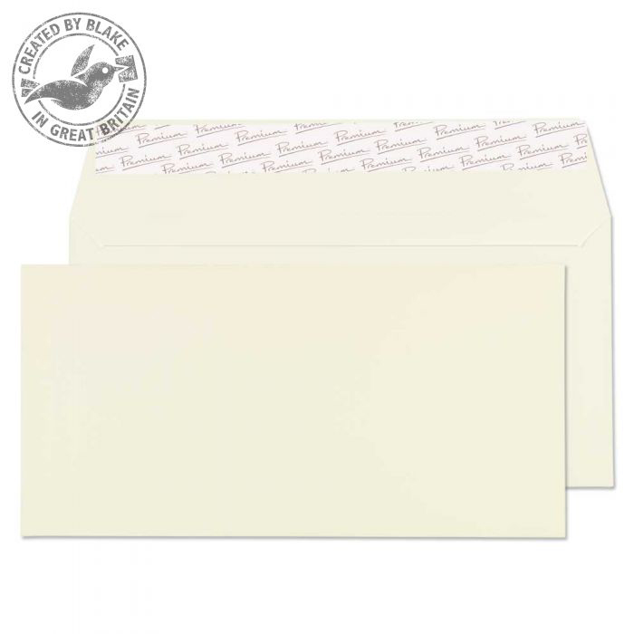 Blake Premium Business Wallet P&S Oyster Wove DL 110x220 120gsm Ref 71882 Pk 500 *10 Day Leadtime*