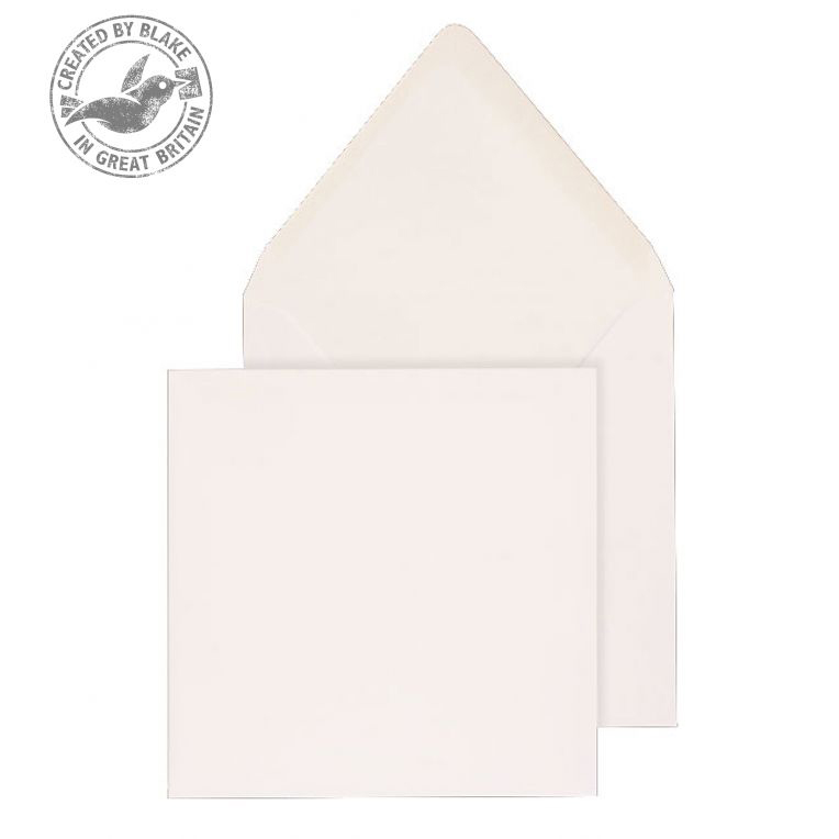 Purely Everyday Square Banker Invit Gum White 90gsm 146x146 Ref ENV2180 Pk1000 10 Day Leadtime