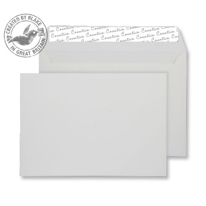 Creative Senses Pure White Peel and Seal Wallet C5 162x229mm Ref FT346 [Pack 125] *10 Day Leadtime*