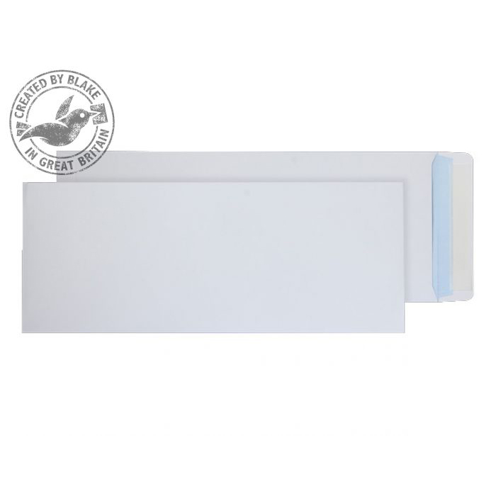 Purely Everyday Pocket Peel and Seal White 120gsm 430x162mm Ref 4502 [Pack 250] 10 Day Leadtime