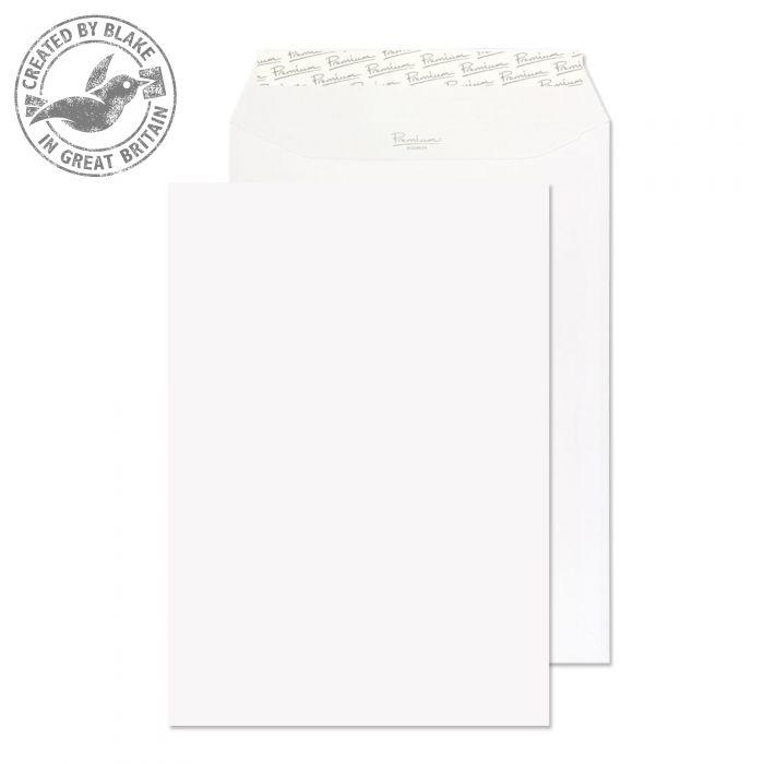 Blake Premium Business Pocket P&S Ice White Wove C4 120gsm Ref 31891 Pk250 *10 Day Leadtime*