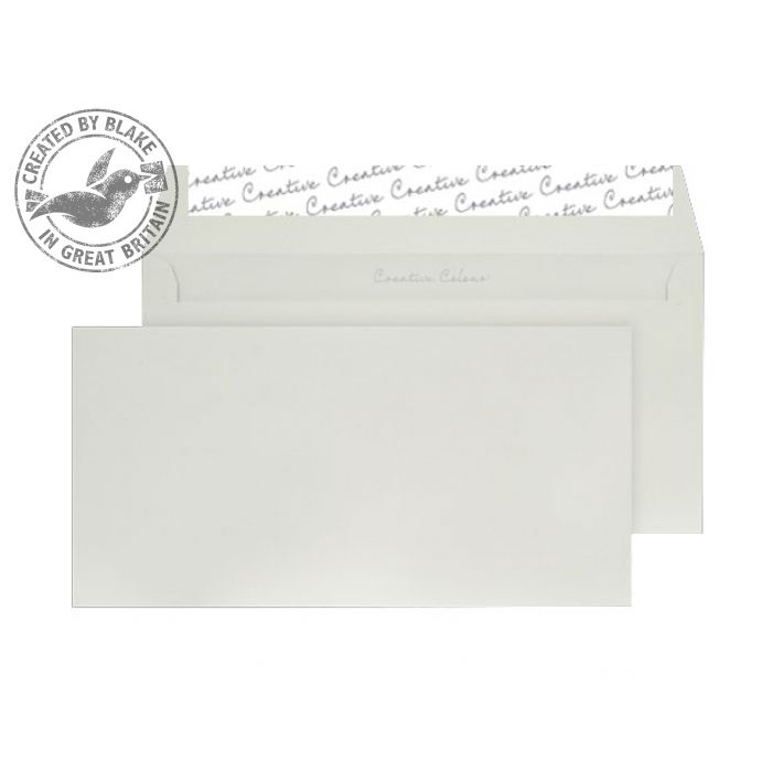 Creative Colour French Grey Peel and Seal Wallet DL+ 114x229mm Ref 219 [Pack 500] 10 Day Leadtime