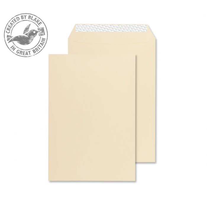 Blake Premium Business Gusset P&S Cream Wove C5 229x162x25 140gsm Ref 6400 Pk 125 *10 Day Leadtime*