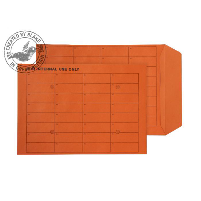 Internal Mail Purely Everyday Int Mail Pckt UnGum Orange Manilla 120gsm C4 Ref 17941INT Pk250 *10 Day Leadtime*