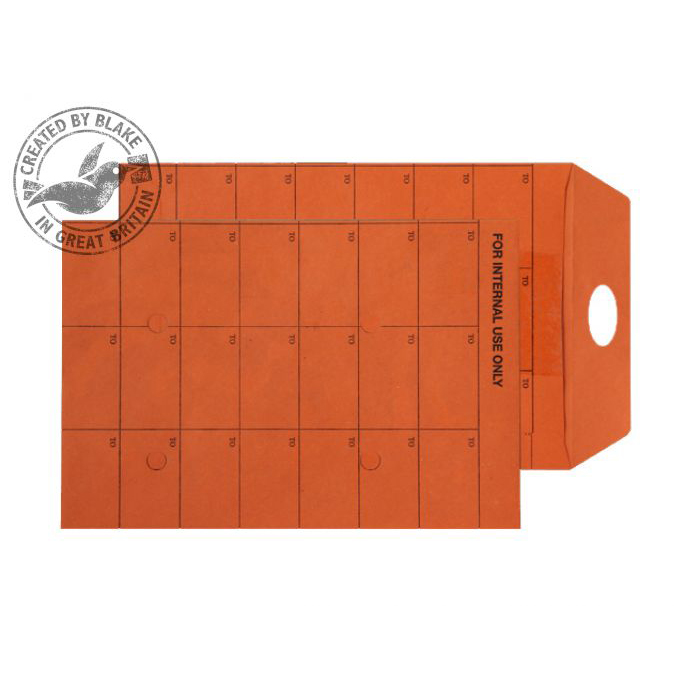 Internal Mail Purely Everyday Int Mail Pckt Reseal Orange Manilla 120gsm C5 Ref 18350RES Pk500 *10 Day Leadtime*