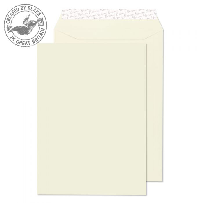 Blake Premium Business Pocket P&S Oyster Wove C4 324x229 120gsm Ref 71891 Pk 250 *10 Day Leadtime*