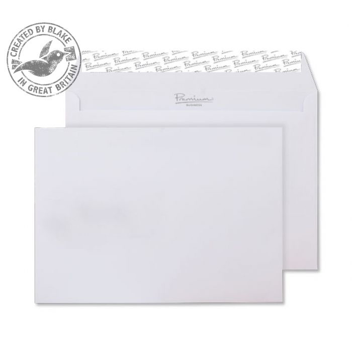 Blake Premium Business Wallet P&S Ice White Wove C5 120gsm Ref 31707 Pk500 *10 Day Leadtime*