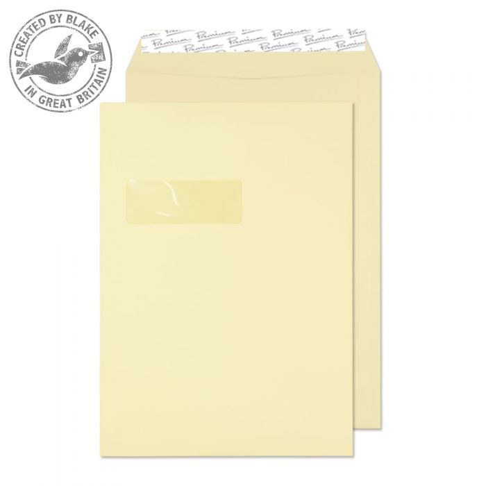 Shades of Brown Blake Premium Business Pocket Wndw P&S Vellum Wove C4 120gsm Ref 51892 Pk250 *10 Day Leadtime*