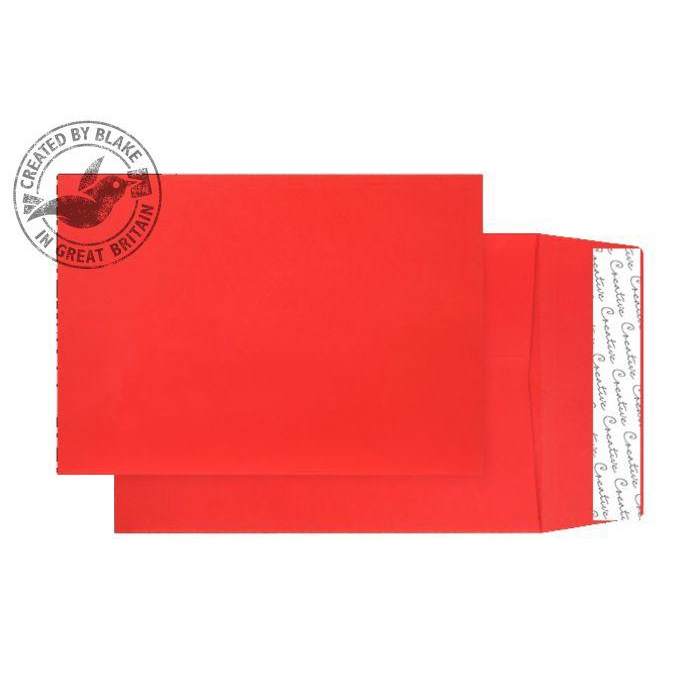 Creative Colour Pillar Box Red P&S Gusset C5 229x162x25mm Ref 6060 [Pack 125] *10 Day Leadtime*