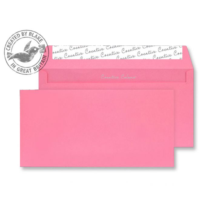 Creative Colour Flamingo Pink P&S Wallet DL+ 114x229mm Ref 202 [Pack 500] *10 Day Leadtime*