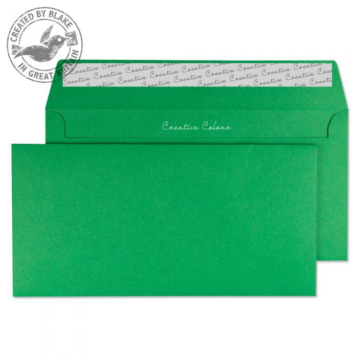 Creative Colour Avocado Green P&S Wallet DL+ 114x229mm Ref 208 [Pack 500] 10 Day Leadtime