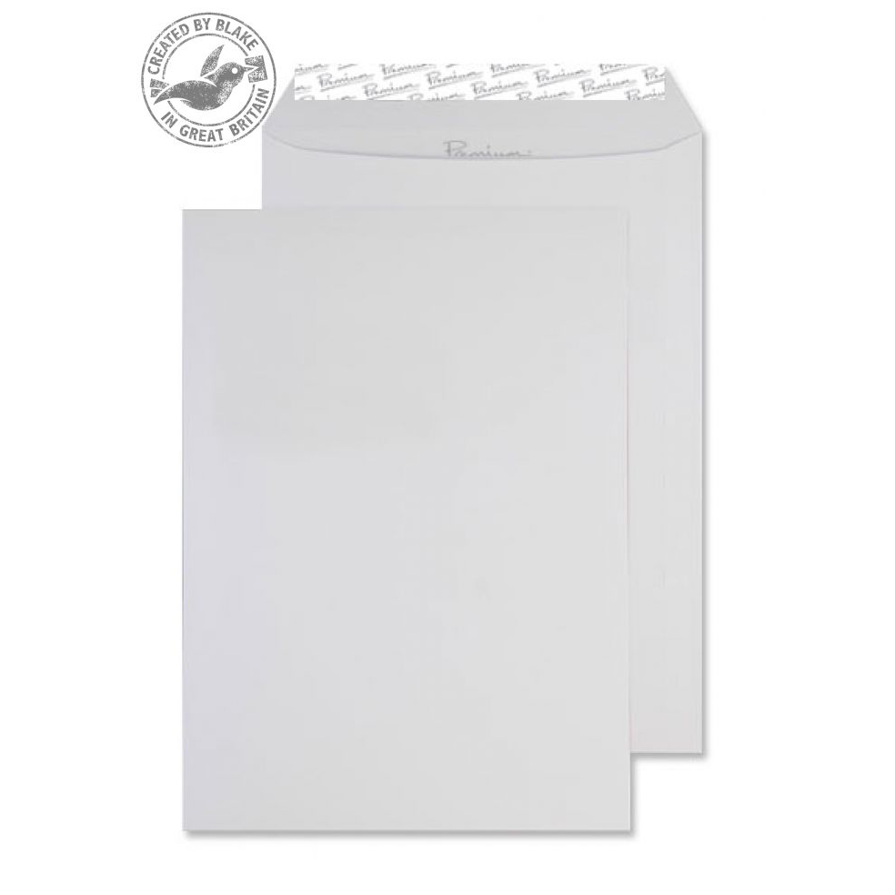 Blake Premium Business Pocket P&S Diamond White Smooth C4 120gsm Ref 36891 Pk250 *10 Day Leadtime*