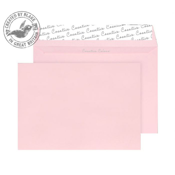 Creative Colour Baby Pink Peel and Seal Wallet C5 162x229mm Ref 301 [Pack 500] 10 Day Leadtime