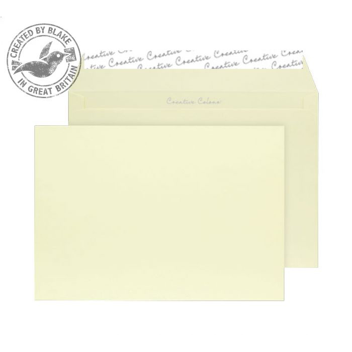 Creative Colour Lemon Yellow Peel and Seal Wallet C5 162x229mm Ref 316 [Pack 500] 10 Day Leadtime